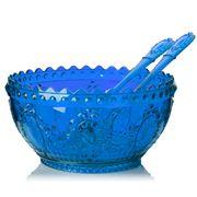 Baci Milano - Salad Bowl Set 3pce Blue