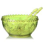 Baci Milano - Salad Bowl Set 3pce Green