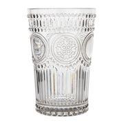 Baci Milano - Neo Barocco Arabesque Tumbler Silver