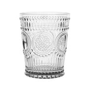Baci Milano - Neo Barocco Arabesque Water Glass Silver