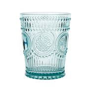 Baci Milano - Neo Barocco Arabesque Water Glass Aqua