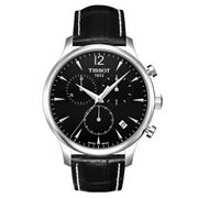 Tissot - Tradition Black Chronograph w/Black Leather Strap