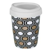 Avanti - Go Mug Geotalics Hexagons