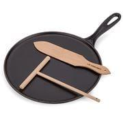 Le Creuset - Crepe Pan Satin Black 27cm