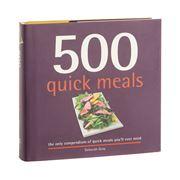 Book - 500 Quick Meals