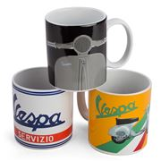 Vespa - Ceramic Mug Set 3pce