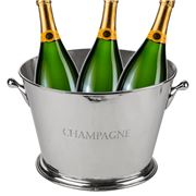 OneWorld - Nickel Champagne Tub