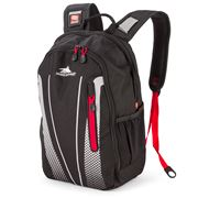 High Sierra - Fusion Backpack Black/Red