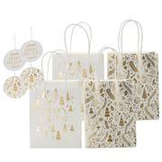 Vandoros - Merry Christmas Gold/White Gift Pack 8pk