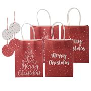 Vandoros - Merry Christmas Red/White Gift Pack 8pk
