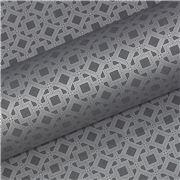 Vandoros - Gatsby Graphite Silver 76cm x 2.5M