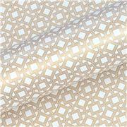 Vandoros - Gatsby Quartz/Gold Wrapping Paper 76cm x 2.5m