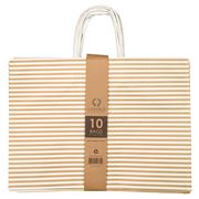 Vandoros - Candy Bag Gold Set 10pce 41x30x15.5cm