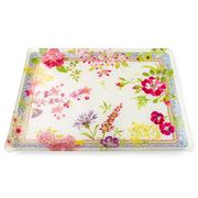 Gien - Millefleurs Large Acrylic Serving Tray