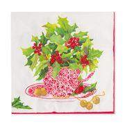 Caspari - Christmas Tea Lunch Napkins 20pk
