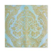 IHR - Mirabeau Blue/Gold Lunch Napkins 20pk