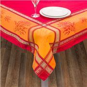 L'Ensoleillade - Senanque Red Tablecloth Coated 160x160cm