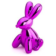 Made By Humans - Balloon Money Bank Bunny Pink