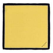 Dalvey - Pindot Gold Pocket Square