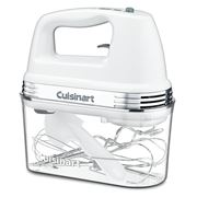 Cuisinart - 9-Speed Hand Mixer w/Storage HM-90SA White