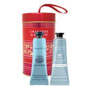 Crabtree & Evelyn - Goatmilk & La Source Ornament Tin 2x25ml