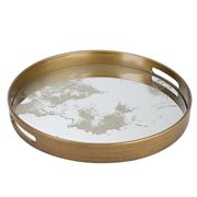 Peters - Rustic Round Tray