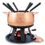 Swissmar - Biel Copper Fondue Set 11pce