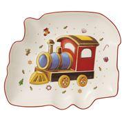 V&B - Christmas Train Bowl