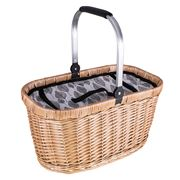 Avanti - Insulated Mono Leaf Carry Picnic Basket