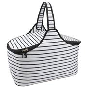 Retro Kitchen - Mono Stripe Picnic Hamper