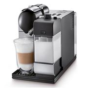 DeLonghi - Nespresso Silver Lattissima Plus Coffee Machine