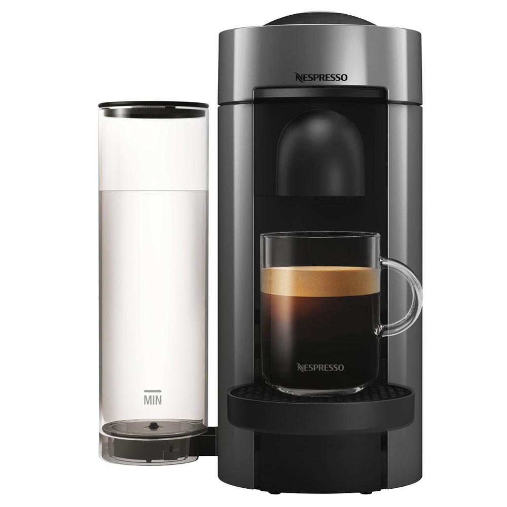 DeLonghi - Nespresso Vertuo Plus Coffee Machine Silver ...