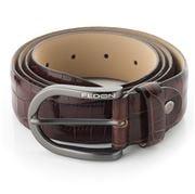 Fedon - U14-35 Cocco Leather Belt Brown