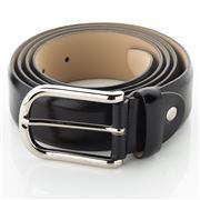 Fedon - U16-35 Calf Leather Belt Black