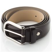 Fedon - U16-35 Dark Brown Calf Leather Belt