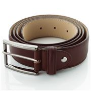 Fedon - U17-35 Bottalato Leather Belt Brown