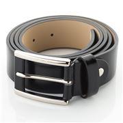 Fedon - U11-35 Calf Leather Belt Black