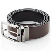 Fedon - U12 Double Face Calf Leather Belt Brown/Black