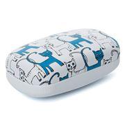 Fedon - Mignon 1919 Small Case Blue & White Cats