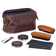 Ted Baker - Walnut Brogue Shoe Shine Kit