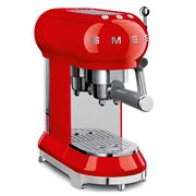 Smeg - 50's Retro Espresso Coffee Machine ECF01 Red