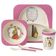 Beatrix Potter - Flopsy Dinner Set