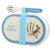 Beatrix Potter - Peter Rabbit Snack Box With Cutlery Set