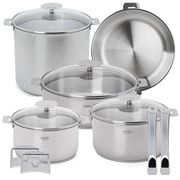 Cristel - Casteline Removable Cookware Set 13pce