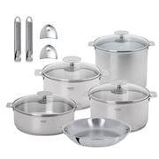 Cristel - Casteline Cookware Set 13pce Rem Handle