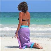 Simone et Georges - Sarong Kikoy Beach Towel Pyla-Sur-Mer