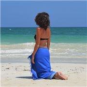 Simone et Georges - Bora Bora Sarong Beach Towel
