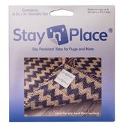 Stay 'n' Place - Slip Resistant Releasable Tab 4 Pack