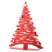 Alessi - Bark For Christmas Red Tree Ornament