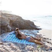 Las Bayadas - La Madai Beach Blanket with Tassels